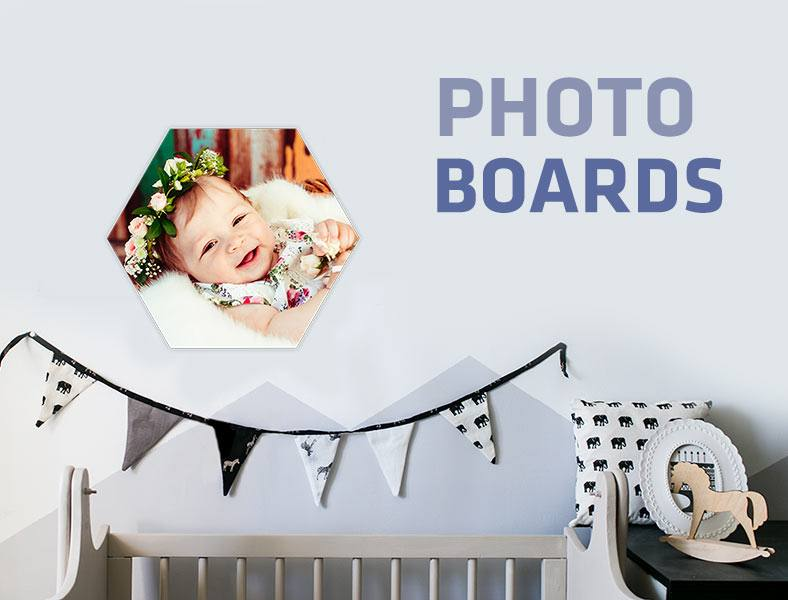 Shaped Photo boards